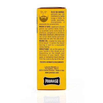 PRORASO Bart Öl Wood and Spice 30 ml