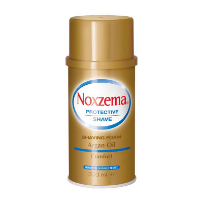 NOXZEMA Argan Oil Rasierschaum 300ml Spender (gold)