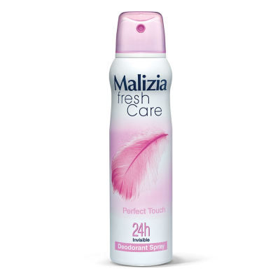 Malizia fresh care deodorant Spray Perfect touch 24h invisible 150 ml