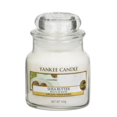 Yankee Candle Shea Butter Kleines Glas 104 g