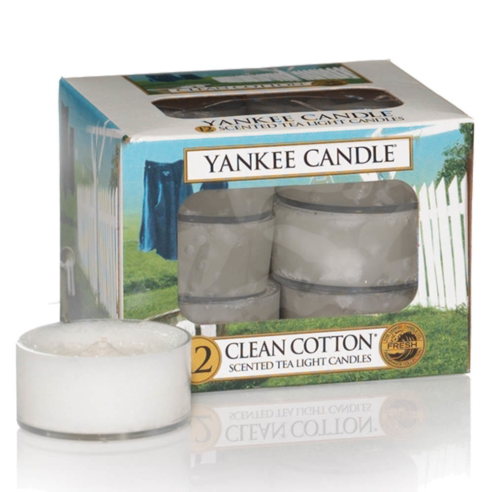 Yankee Candle Fluffy Towles Teelicht 12st 118 g
