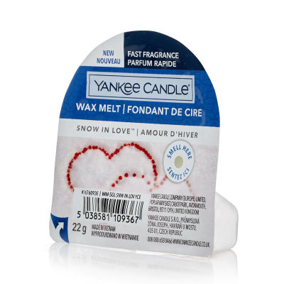 Yankee Candle Snow In Love Wax Melt Duftwachs 22 g