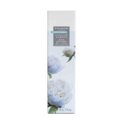 Atkinsons English Garden White Peony Körperwasser 200 ml vapo