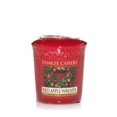 Yankee Candle Red Apple Wreath Votiv Sampler Duftkerze 49 g