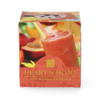 Heart & Home Peach Mango Smoothie Votiv Duftkerze 52 g