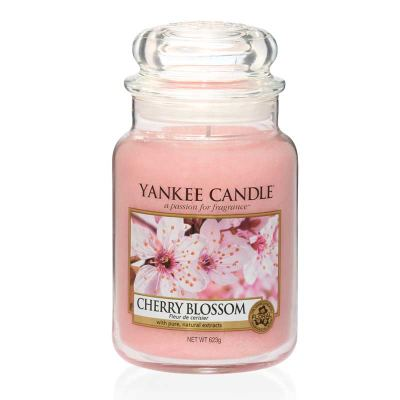 Yankee Candle Cherry Blossom Großes Glas 623 g
