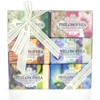 Nesti Dante Seifen Geschenk-Set Philosophia Collection (6x 150g)