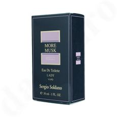 Sergio Soldano More Musk Eau de Toilette Lady 30 ml