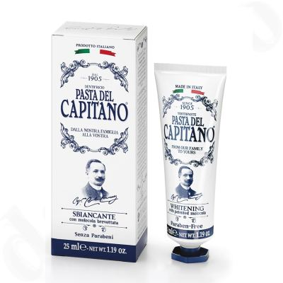 Pasta del Capitano Premium Collection Edition 1905 Rezept Whitening Zahnpasta 25ml - Mini