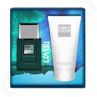 Enrico Coveri pour homme Set Eau de Toilette + After Shave Balsam