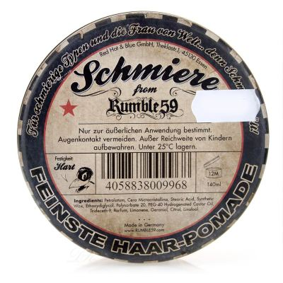 Rumble 59 Schmiere Pomade Special Edition Poker hart 140 ml