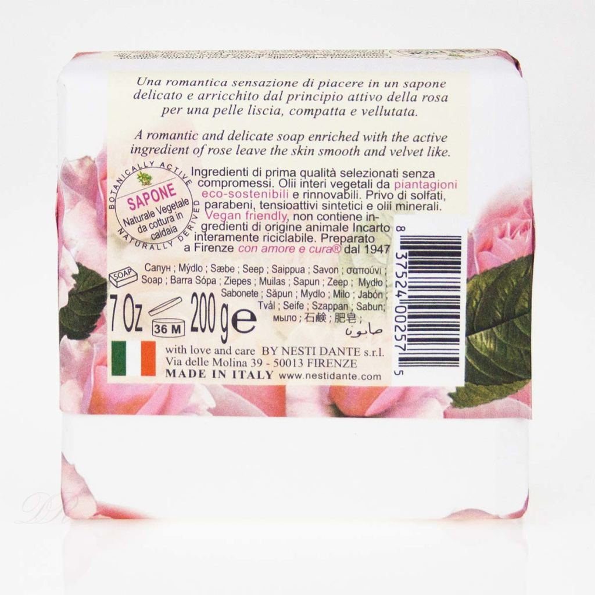Saponeria Nesti Marsiglia Toscano Rosa Centifolia Pflanzliche Seife