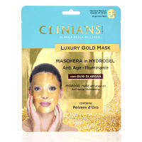 Clinians Anti-Age Gold Gesichtsmaske in Hydrogel mit Arganöl