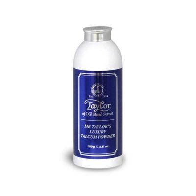 Taylor of Old Bond Street Mr Taylor Luxury Talcum Powder 100 g