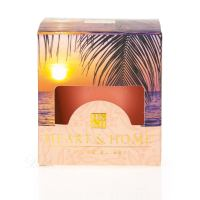 Heart & Home Paradise Sunset Votiv Duftkerze 52 g
