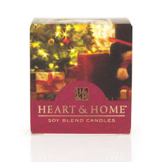 Heart & Home Home for Christmas Votiv Duftkerze 52 g