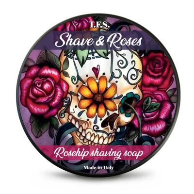 Tcheon Fung Sing Shave & Roses Rosehip Rasierseife 125 ml