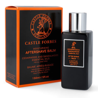 Castle Forbes Cedarwood and Sandalwood After Shave Balsam 150 ml