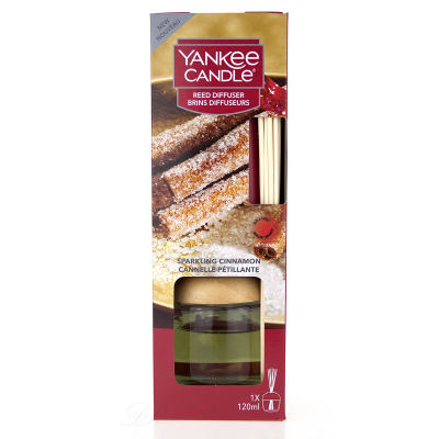 Yankee Candle Reed Diffuser Sparkling Cinnamon Raumduft 120 ml