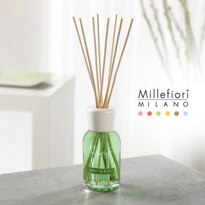 Millefiori Natural Reed Diffusor Green Fig & Iris Raumduft 250 ml