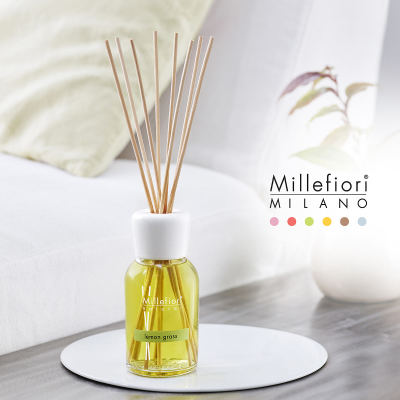 Millefiori Natural Reed Diffusor Lemon Grass Raumduft 250 ml