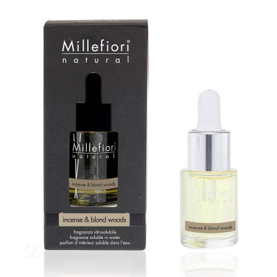 Millefiori Hydro Natural Incense & Blond Wood Wasserlöslicher Duft 15 ml