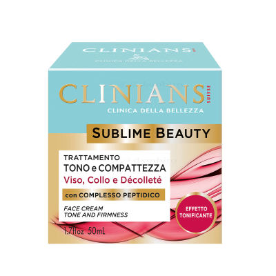 Clinians Sublime Beauty Tone and Firmness Gesichtscreme 50 ml