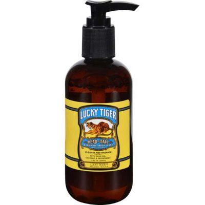 Lucky Tiger Head To Tail Duschgel und Shampoo 240 ml