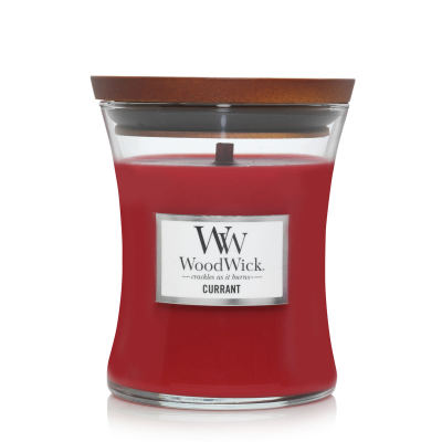 WoodWick Currant Mittleres Glas Duftkerze 275 g