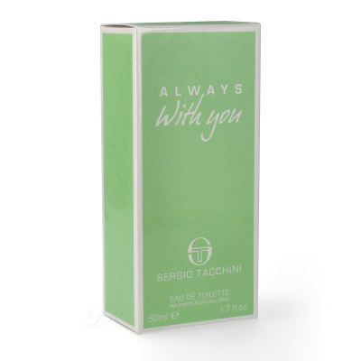 Sergio Tacchini always with you Eau de Toilette woman 30ml