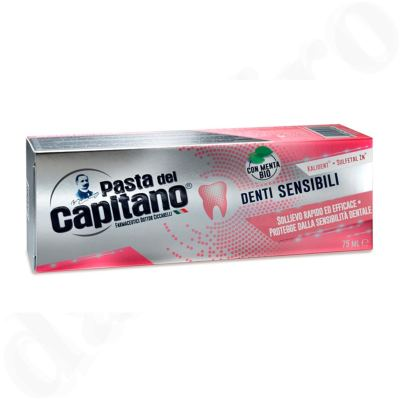 Pasta del Capitano Zahnpasta Sensitive 3x 75 ml - sensible Zähne