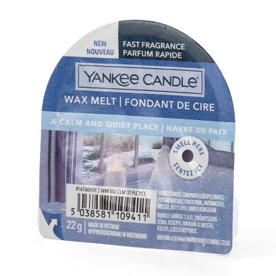 Yankee Candle A Calm and Quiet Place Wax Melt 22 g