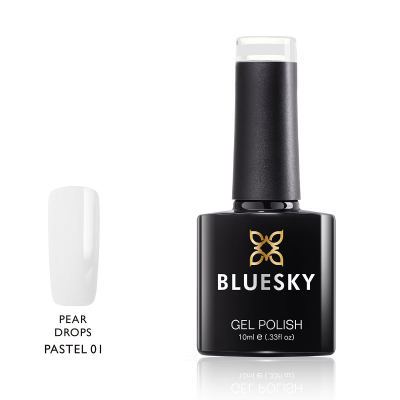Bluesky Pastel 01 Pear Drops UV Gel Nagellack 10 ml