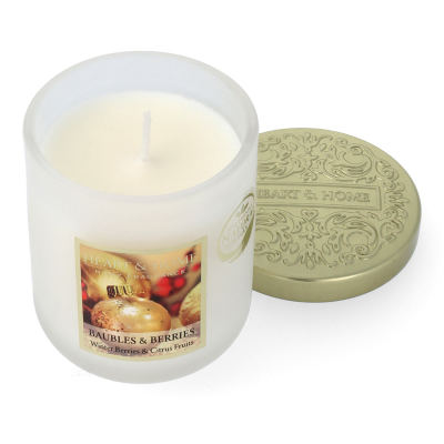 Heart & Home Baubles & Berries Duftkerze Kleines Glas 115 g