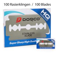 Dorco Stainless Blade Super Sharp Double Edge Rasierklingen 100 Stück
