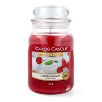 Yankee Candle Cherries on Snow Duftkerze Großes Glas 623 g
