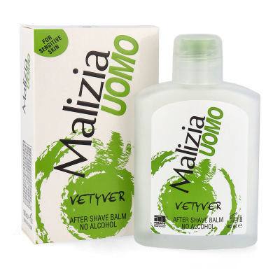 MALIZIA UOMO VETYVER After Shave Balsam ohne Alkohol 100ml