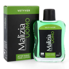 MALIZIA UOMO VETYVER After Shave TONIC Lotion 100ml...