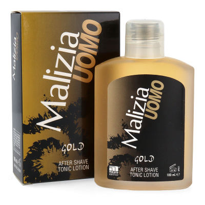 MALIZIA UOMO GOLD - After Shave Tonic Lotion 100ml