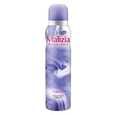 MALIZIA DONNA Body Spray deodorant PURPLE 150 ml