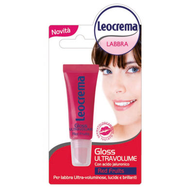 LEOCREMA LIP Gloss Ultravolume Red Fruits 10ml