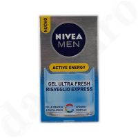 Nivea for Men Active Energy ultra Gel fresh für die Gesichtshaut 50ml