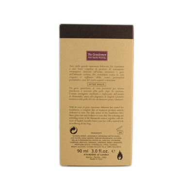 Atkinsons For Gentleman after shave 90 ml