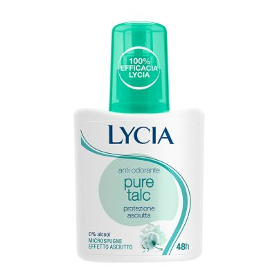 LYCIA Anti Odorante pure talc deo 75ml
