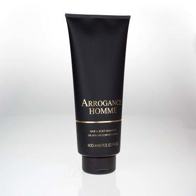 Arrogance pour homme hair & Body shampoo 400ml