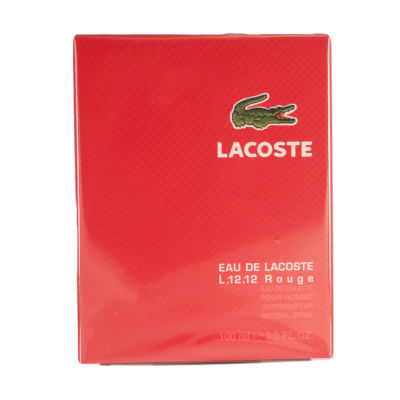 Lacoste L1212 Rouge Homme Eau de Toilette Spray 100ml