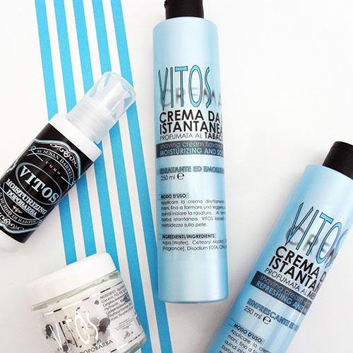 Die perfekte Pflege vor und nach der Rasur mit den Produkten von Vitos