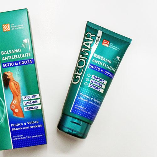 Der Geomar Anti-Cellulite-Hautconditioner zum Duschen
