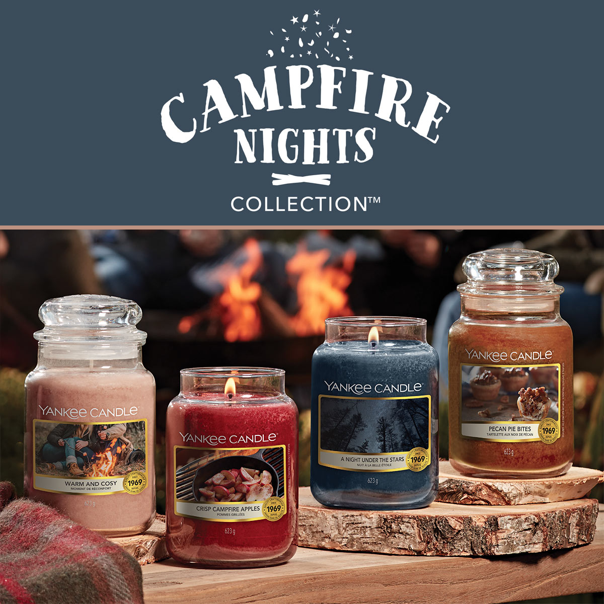 Yankee Candle Campfire Collection