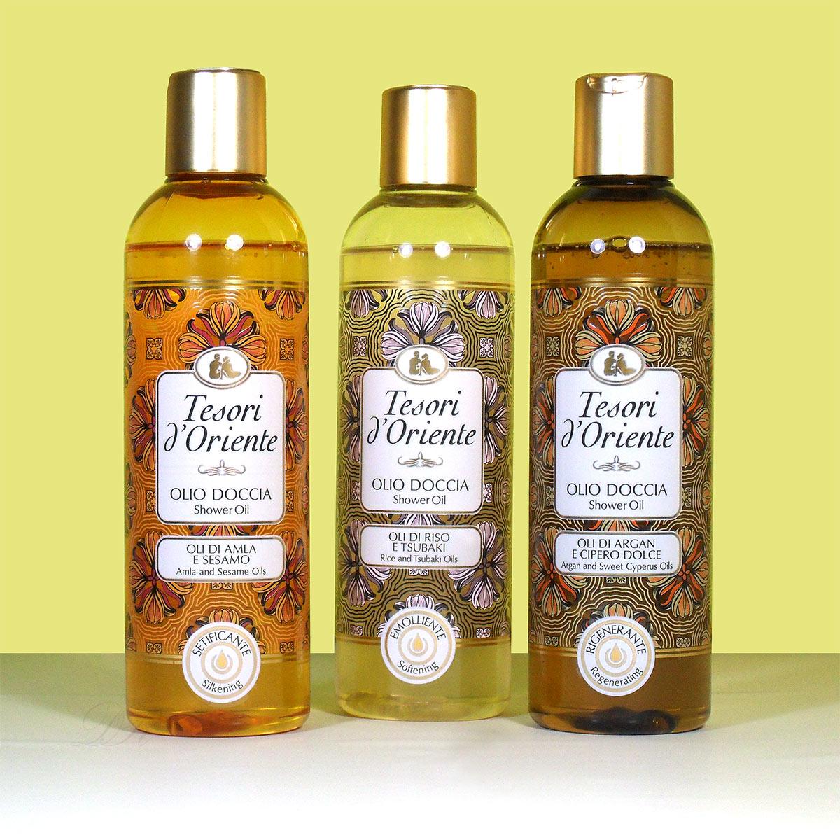 Tesori d'Oriente shower oil